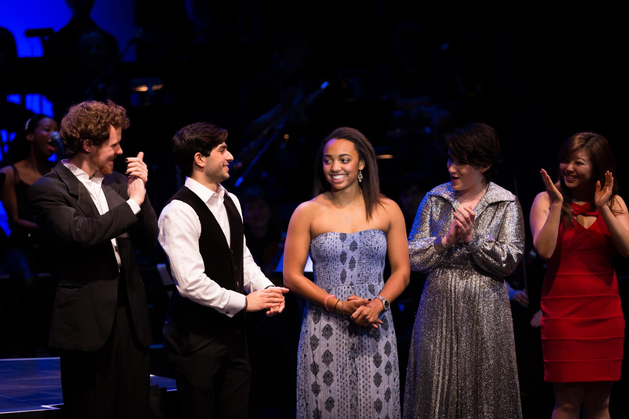 Stephanie Everett at Dartmouth Idol | credit: Joshua Renaud '17