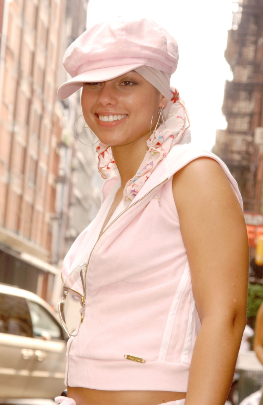 Alicia Keys in Baby Phat | Getty Images