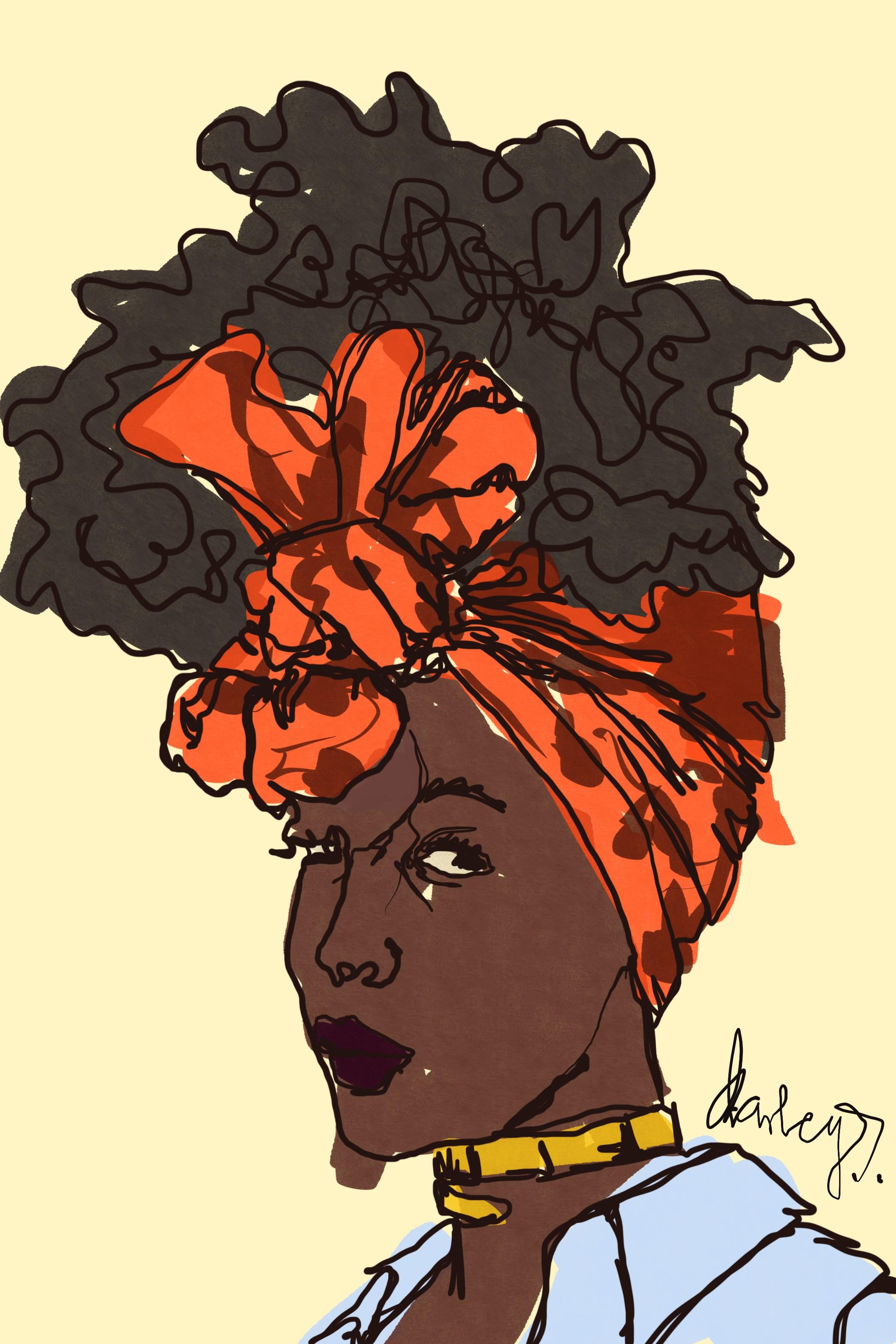 Artwork by Darley Sackitey