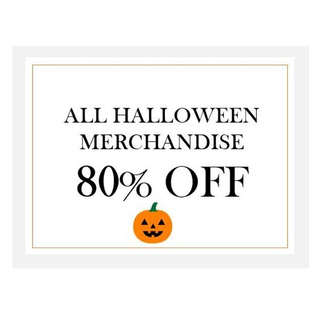 80% off Halloween gifts and decor! Grab a ghoulfriend and stop in! 👻🔮🎃 #Halloween #homedecor #design