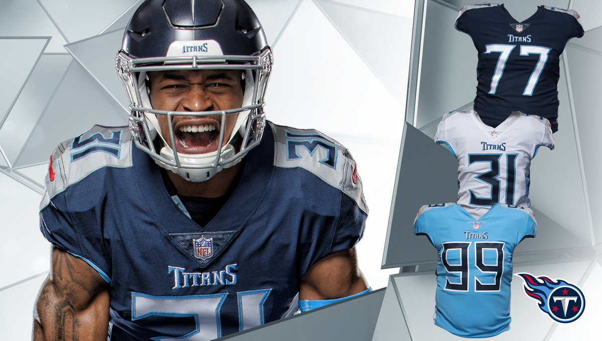 Tennessee Titans New Uniforms Uniswag