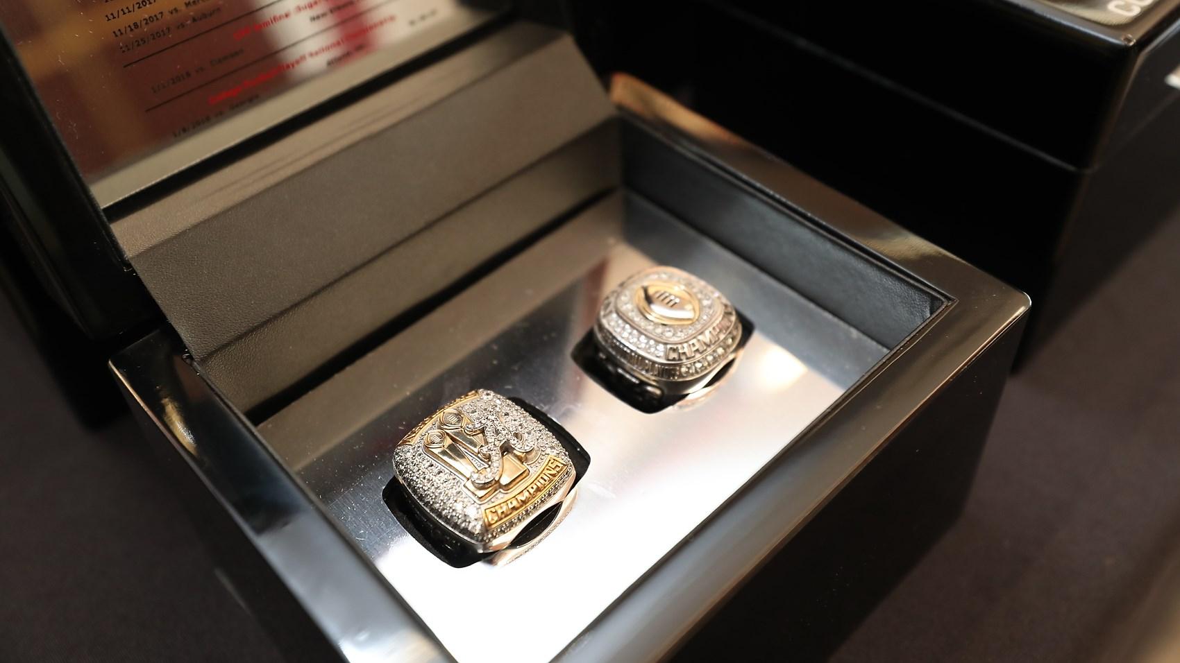Alabama National Championship Ring Uniswag