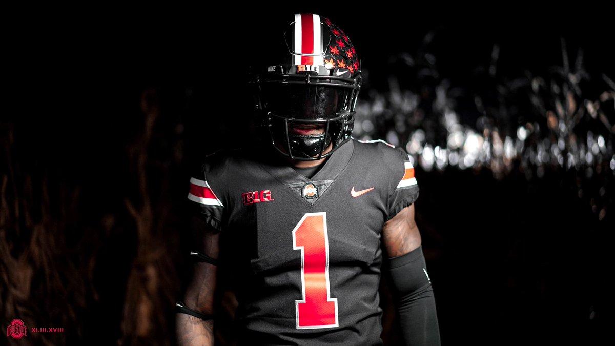 black ohio state jersey