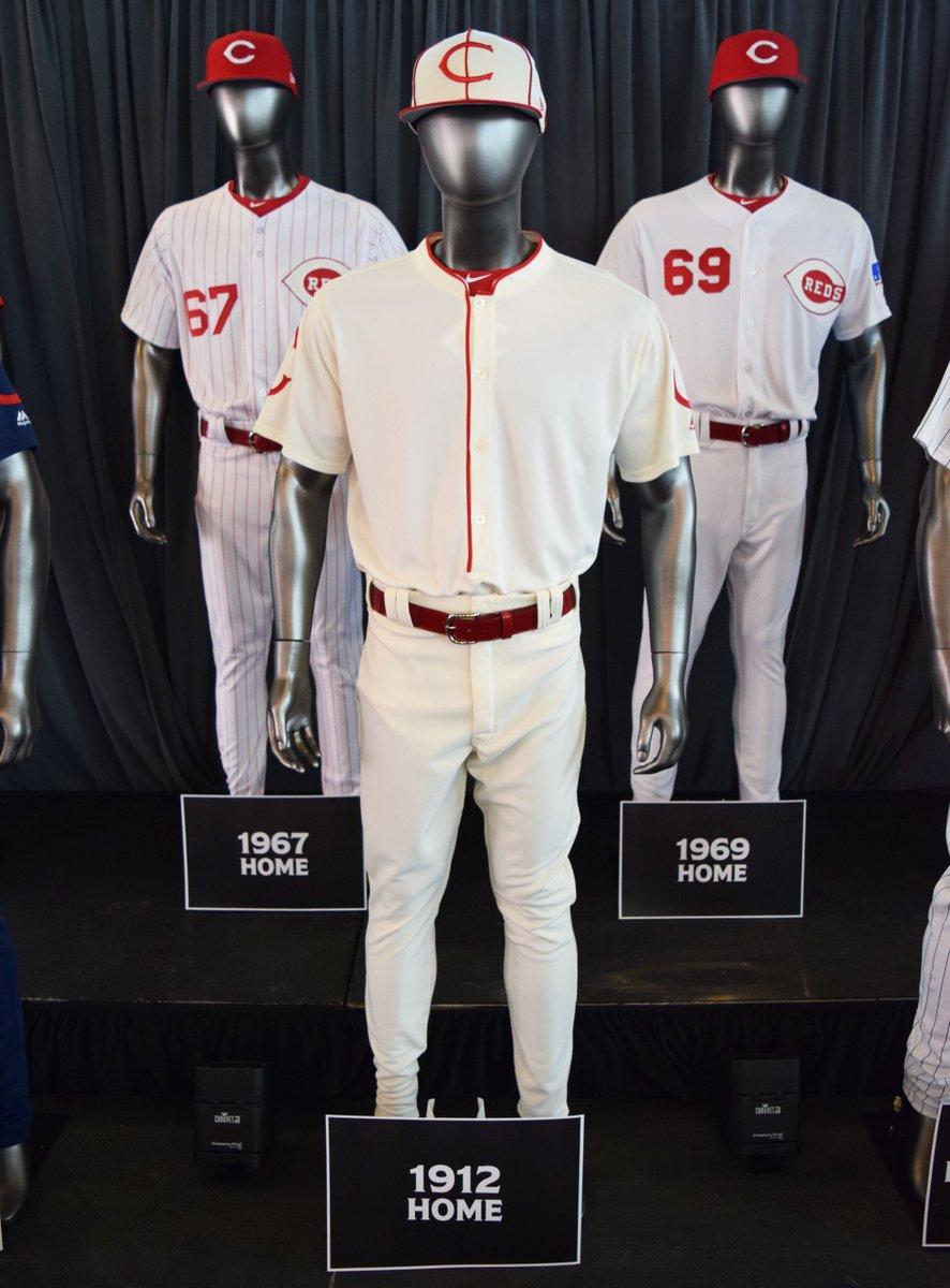 cincinnati reds throwback uniforms