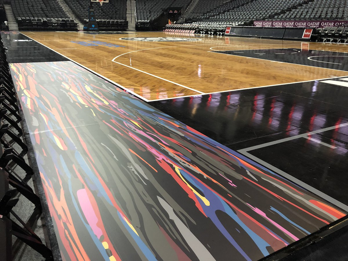 Brooklyn Nets Biggie Inspired City Edition Court Uniswag