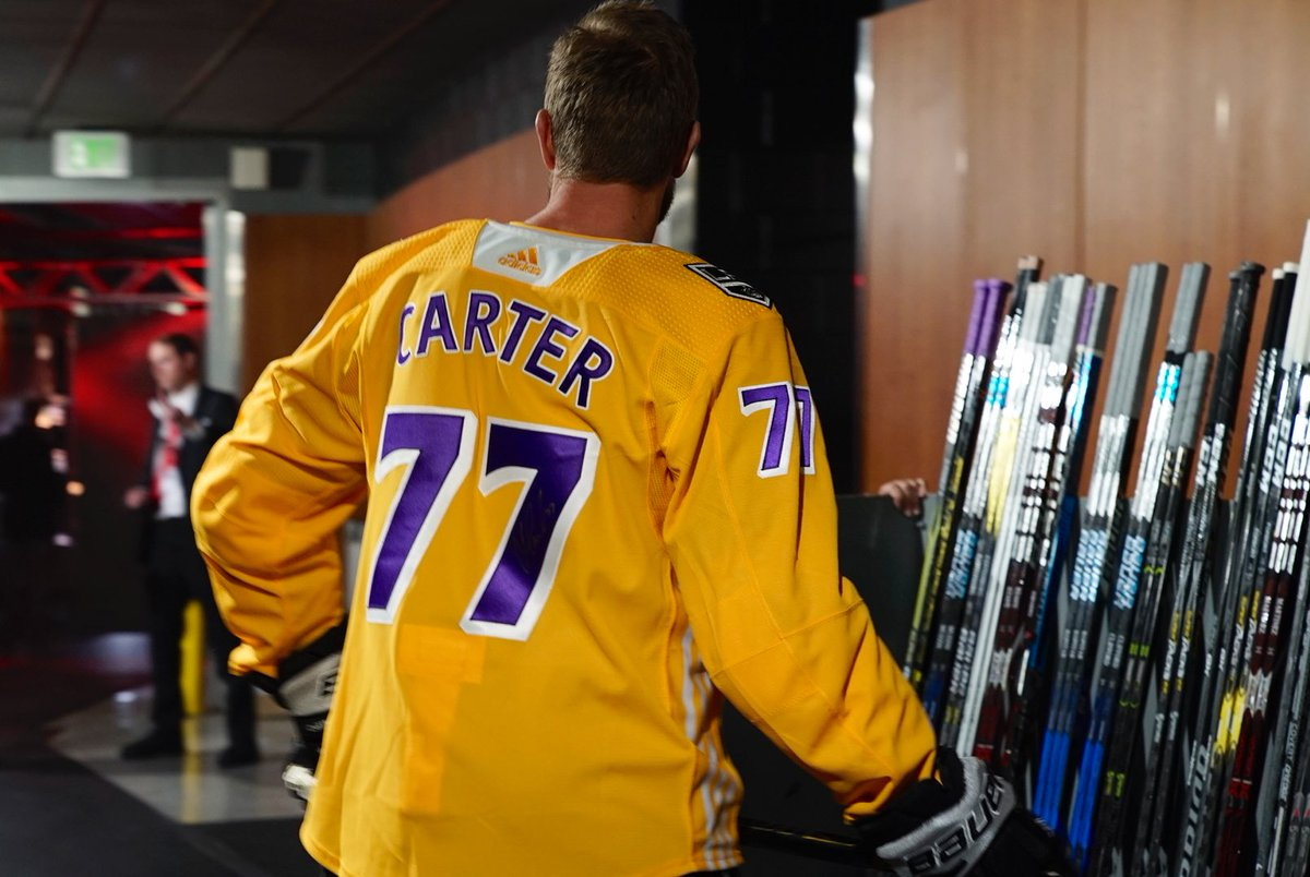 LA Kings 'Lakers' Pregame Jerseys — UNISWAG