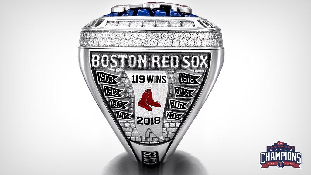 Boston Red Sox World Championship Rings — UNISWAG