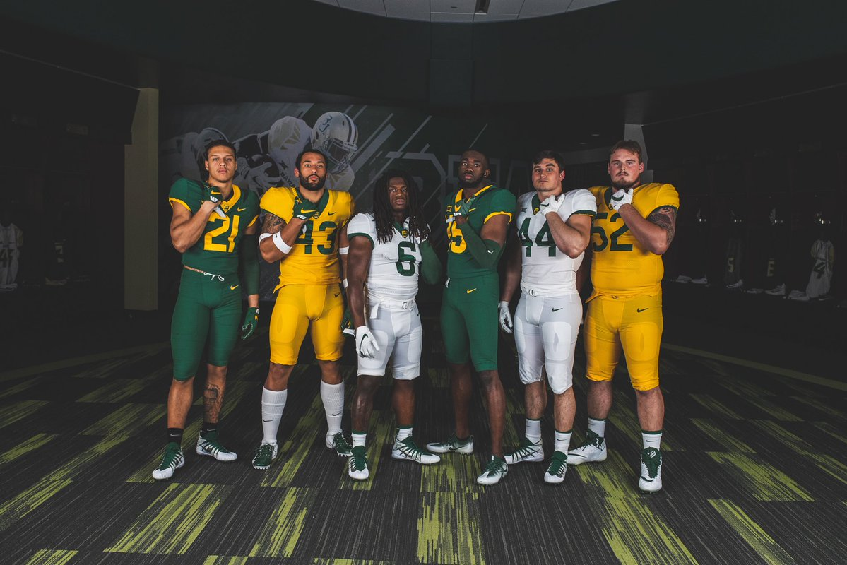 new arrival fc6bc a9c1f Baylor Football New Uniforms — UNISWAG