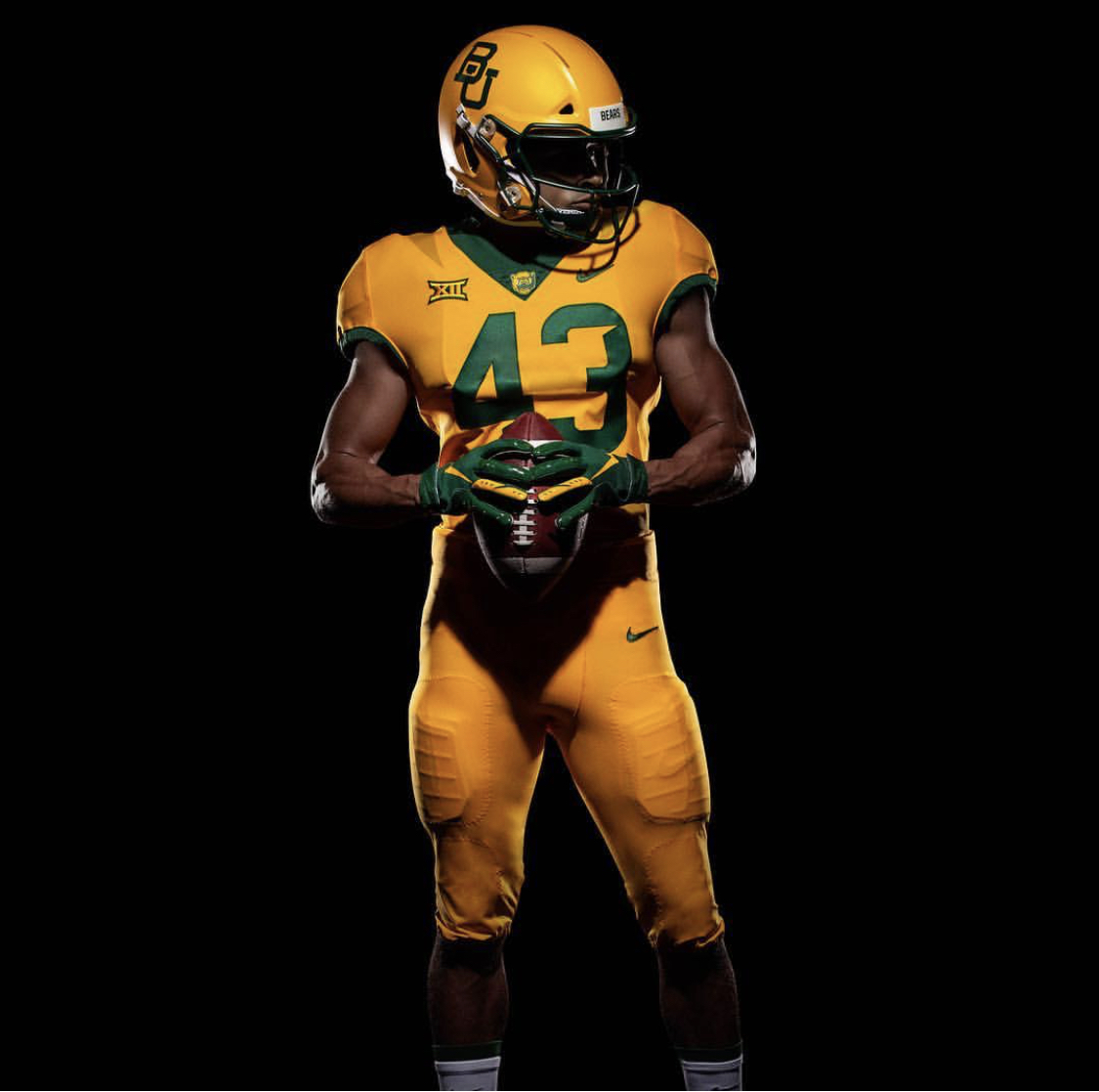 d051b267f7d Baylor Football New Uniforms — UNISWAG