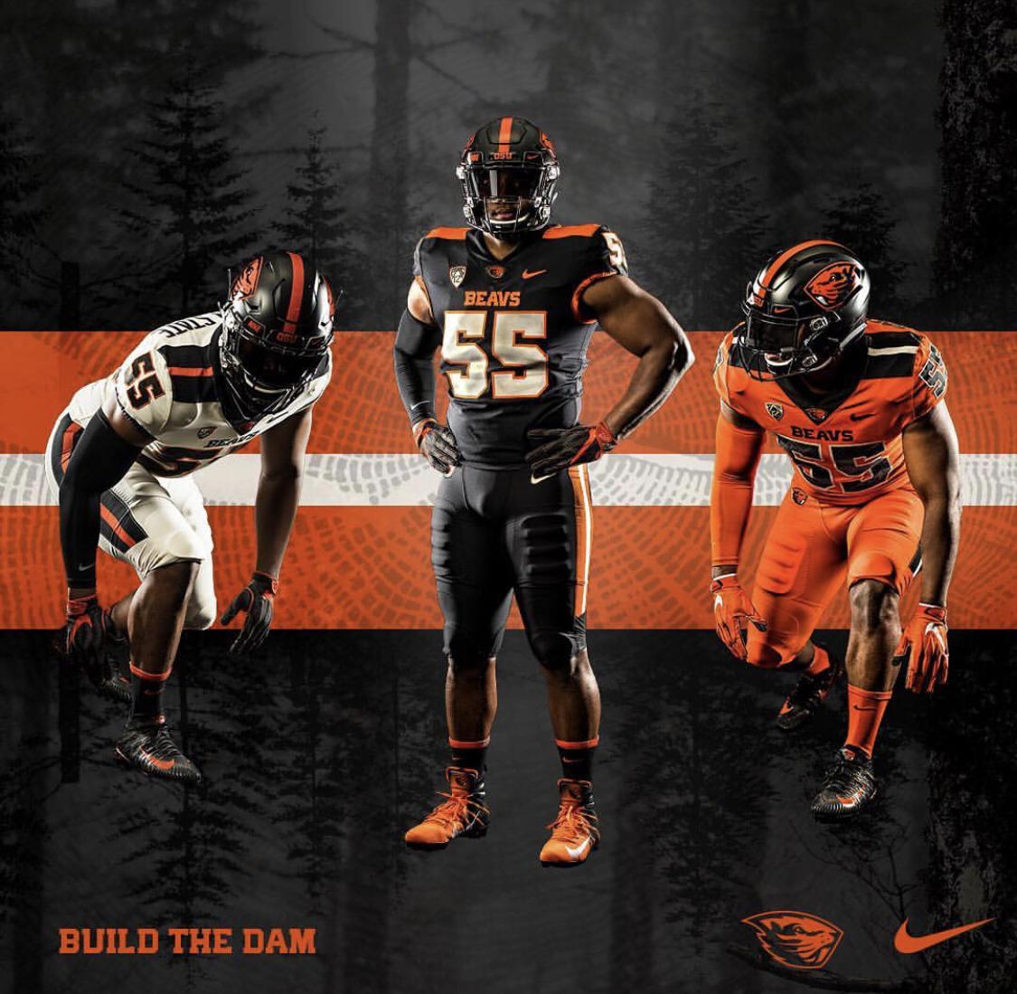 wholesale dealer 50db5 b588e New Uniforms for Oregon State — UNISWAG