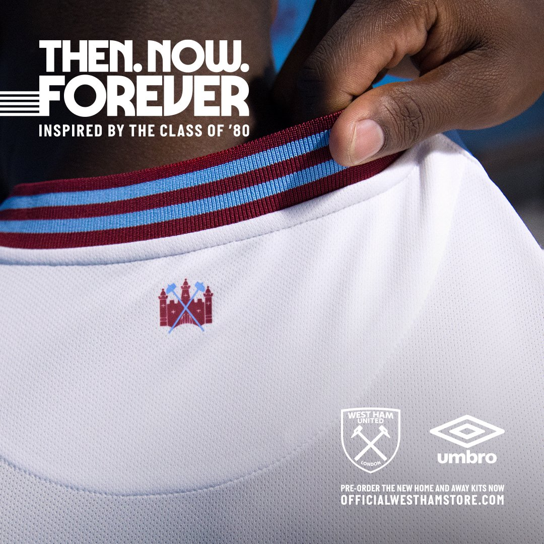 New Kits for West Ham United — UNISWAG