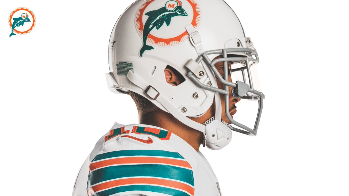 premium selection 22cfb 0d314 Miami Dolphins New Throwback Uniform — UNISWAG