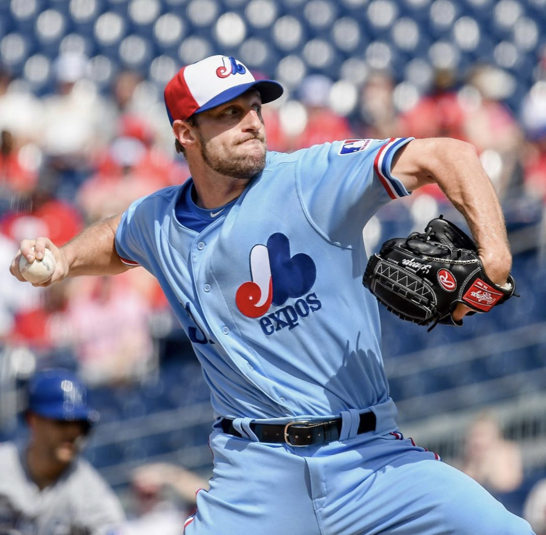 timeless design c15d7 2e7c5 Washington Nationals Expos Throwback Uniform — UNISWAG