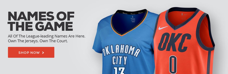release date 69771 82304 New Oklahoma City Thunder Uniforms — UNISWAG