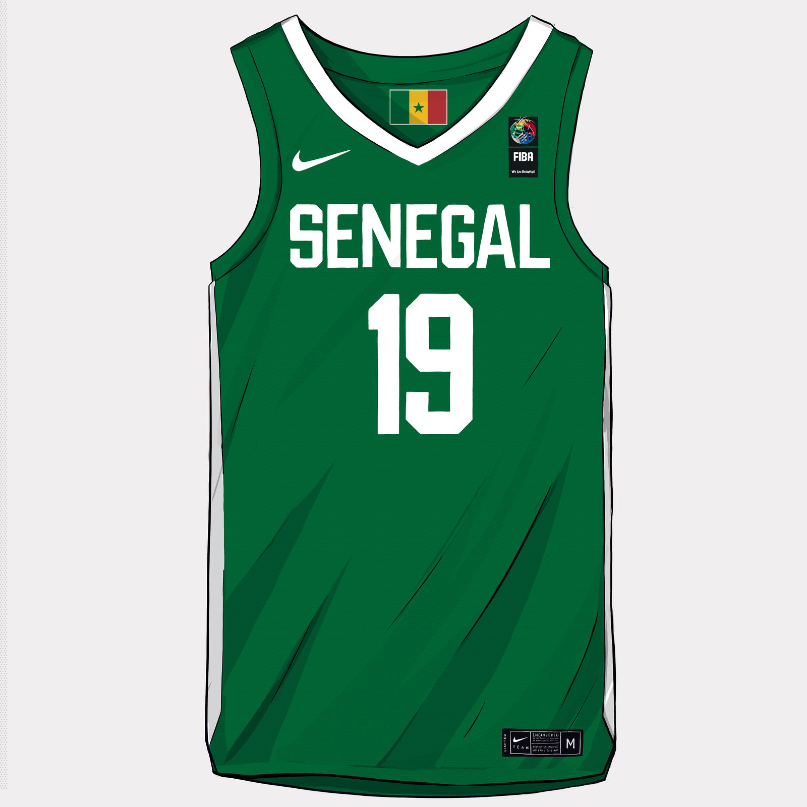 quality design 7aaea ad890 2019 Nike & Jordan Brand Basketball Federation Uniforms ...