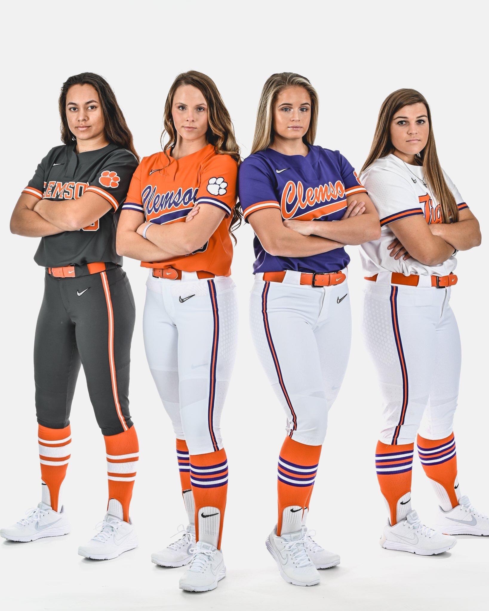 Clemson Softball Uniforms Uniswag