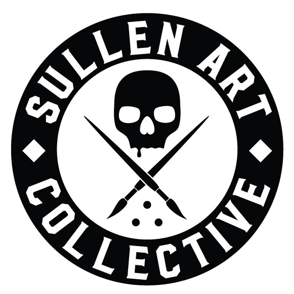 Sullen Art Collective - The first Tattoo Art Series t-shirt that grew into the globally recognized brand known as the Sullen Art Collective. Over 200 artists have contributed since the brands inception in 2001. With styles varying from Black and Grey fine line, bold traditional americana, and colorful realistic tattoo art. Sullen embodies the lifestyle of tattooing and honors its traditions. To purchase a Sullen tee of your own, visit their website below!