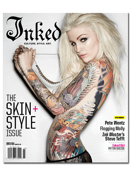 Inked Magazine - Inked Magazine is destination to find creative tattoo ideas, the best tattoo artists, photos and videos of tattooed models and news on tattooed celebrities. Click the link below and grab your copy today!