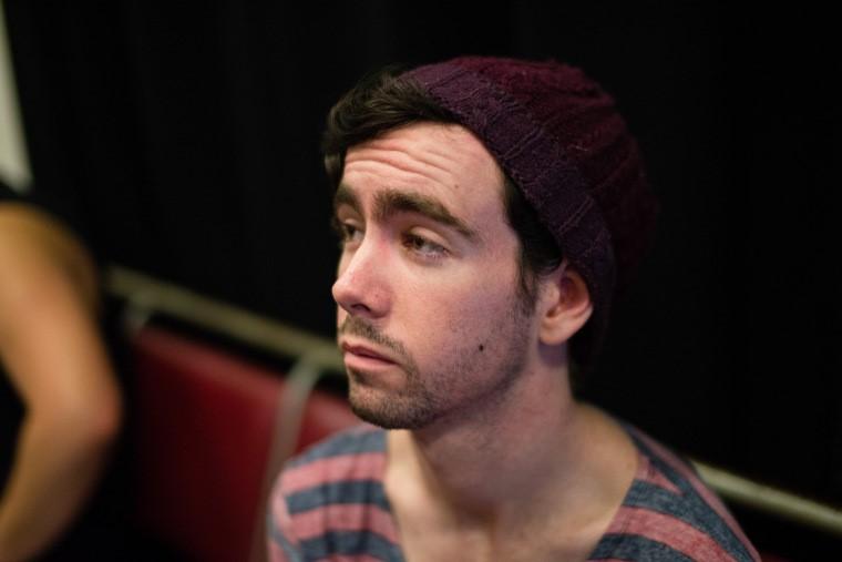 McArdle; deep in thought or half-asleep? Either way still inspiring. Photo by: Kieran Peek