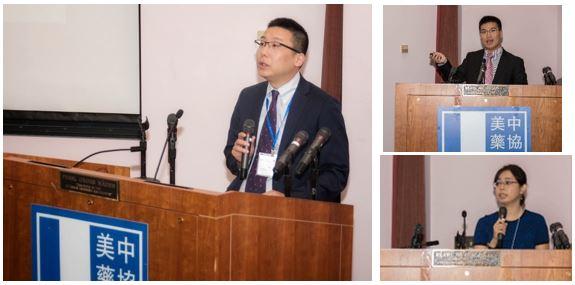 左:李昕参赞;右上:邓灵泉博士;右下:刘子懿博士