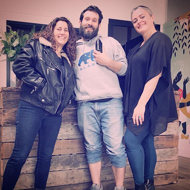 Mike and Mary Jane meet renowned cannabis lawyer, activist and industry leader Amy Margolis at her 420-friendly workspace @thecommunepdx to talk about @intheinitiative , an accelerator program designed to rebalance the gender discrepancy in the cannabis industry by launching female cannabis entrepreneurs and executives. They talk about execution, determination and never being afraid to speak up. 💪🌿🛠 . . In collaboration w/ @ghostvapesofficial . . . #weedandgrub #weedandgrublive #cannabis #comedy #cooking #weed #food #sex #podcast #bookyourownlife #highlife #420 #edibles #chef #smoke #marijuana #culture #popculture #potculture #legalizeit #livetheleaf #magicalbutter #ghostvapesofficial