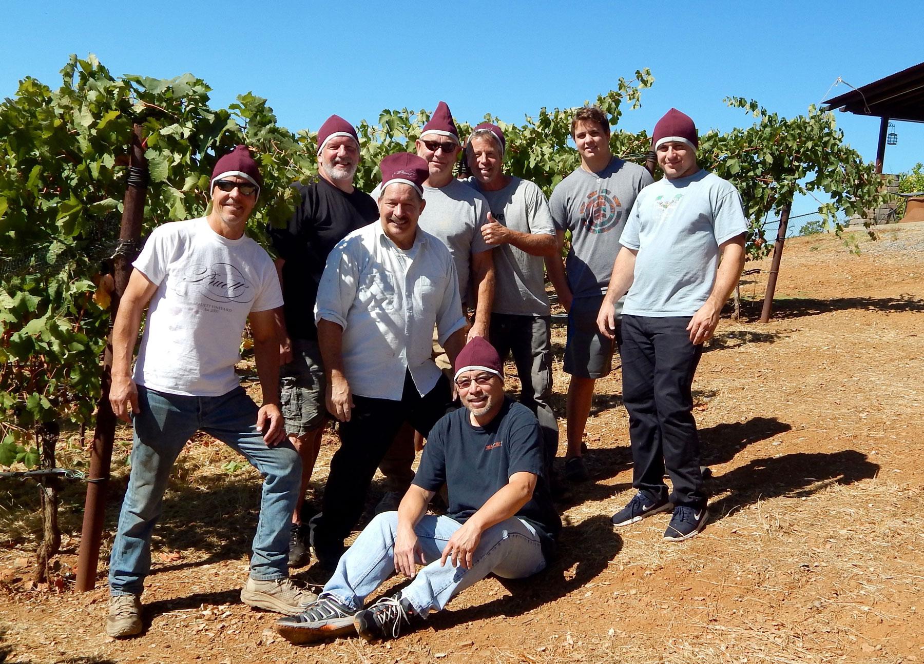 The 2017 Harvest Team