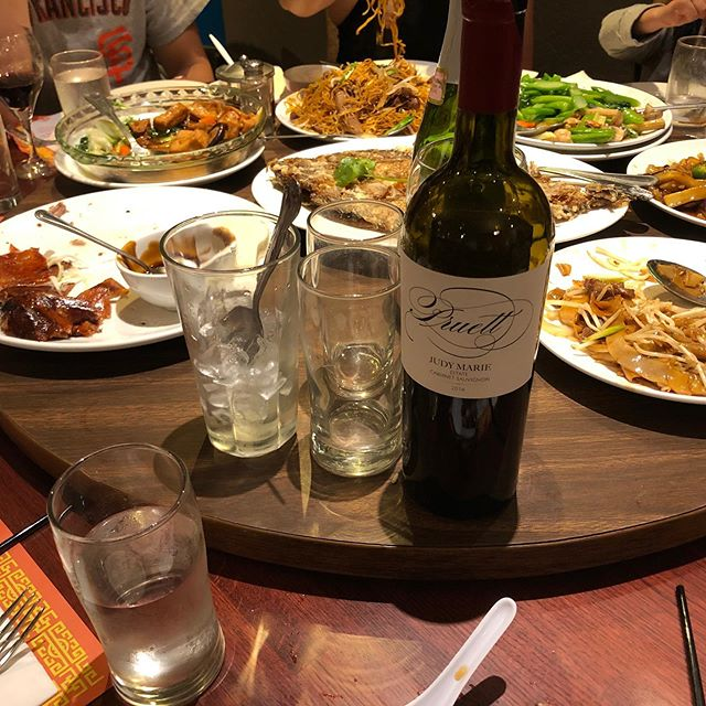 """Another wonderful share from happy guests: """"5 tables with JM, LL, Vin Gris and Petite Verdot thru out!! Lotsa critics here but 5 tables out of 5 rating Excellent! Thank You!!"""" And thank you! Cheers!"""
