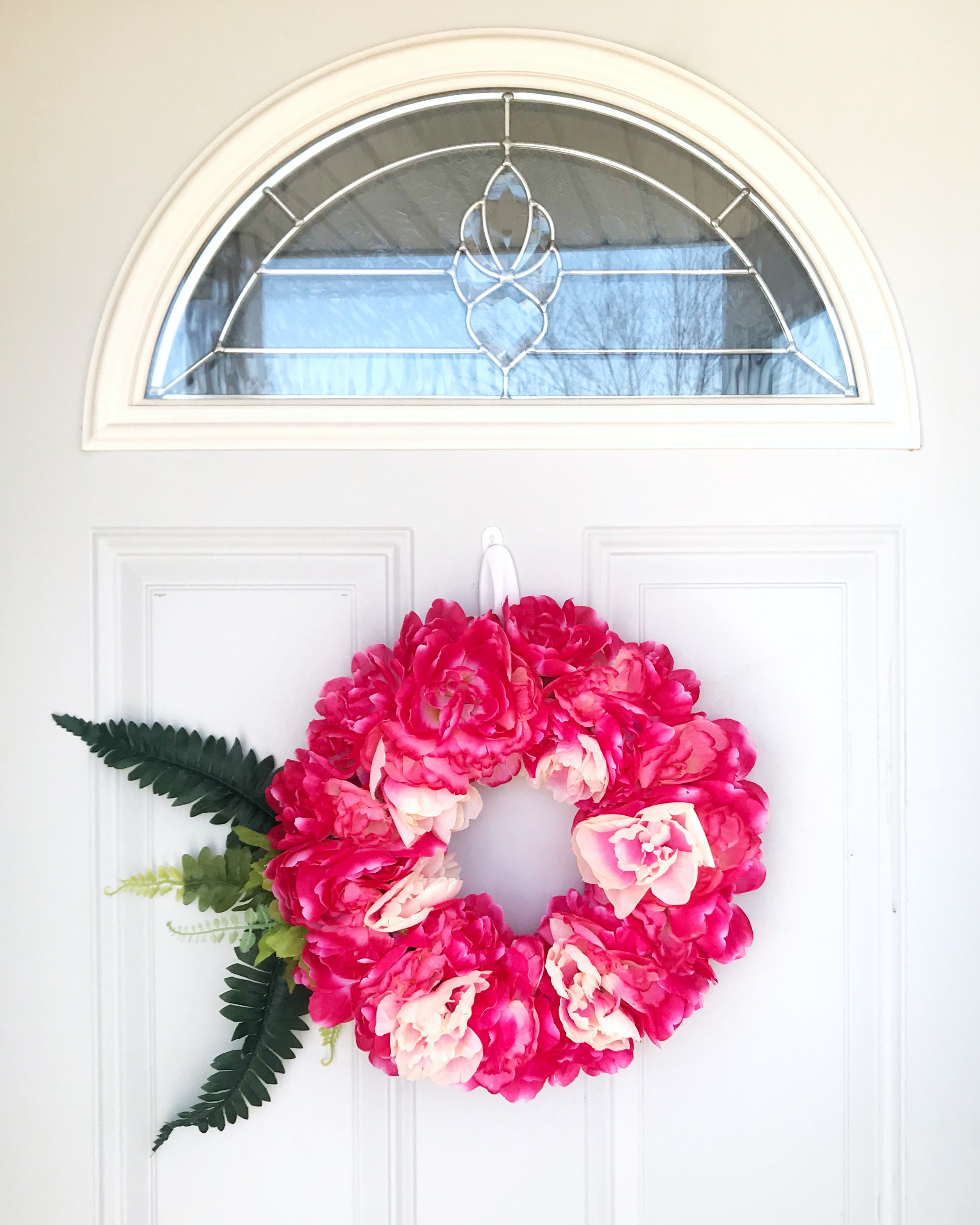 Between the Phases Spring Wreath Tutorial