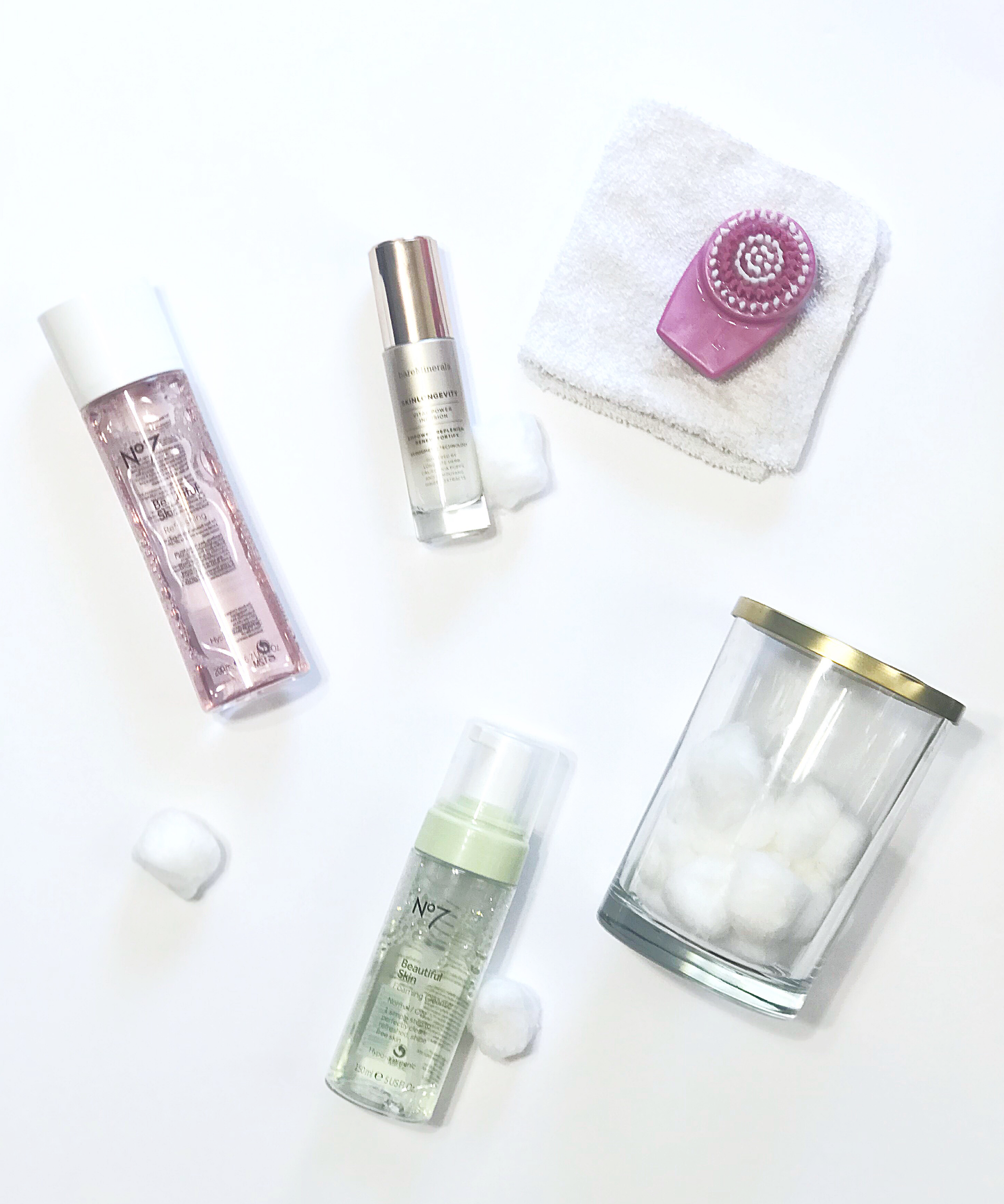 Between the Phases Skincare Routine