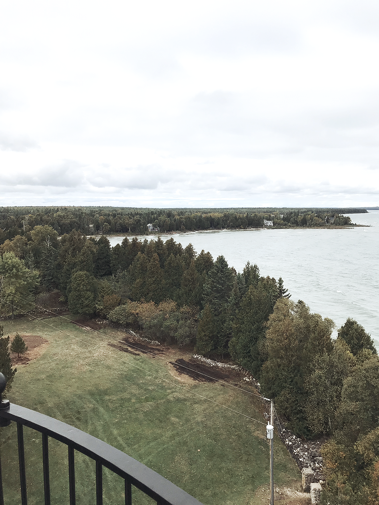 Between the Phases Top 12 Travel Destinations in Door County, Wisconsin at Cana Island Lighthouse and museum