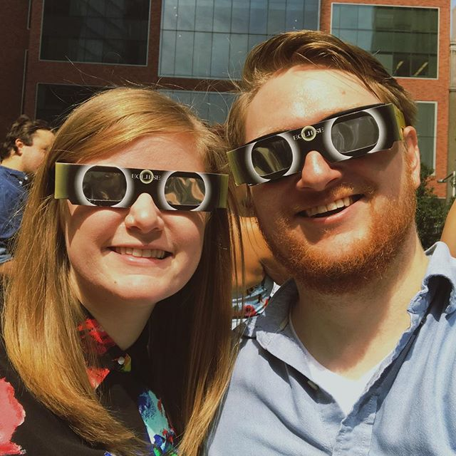 Thoroughly enjoyed getting our eclipse on! 🌕🌖🌗🌘🌑🌒🌓🌔#solareclipse2017