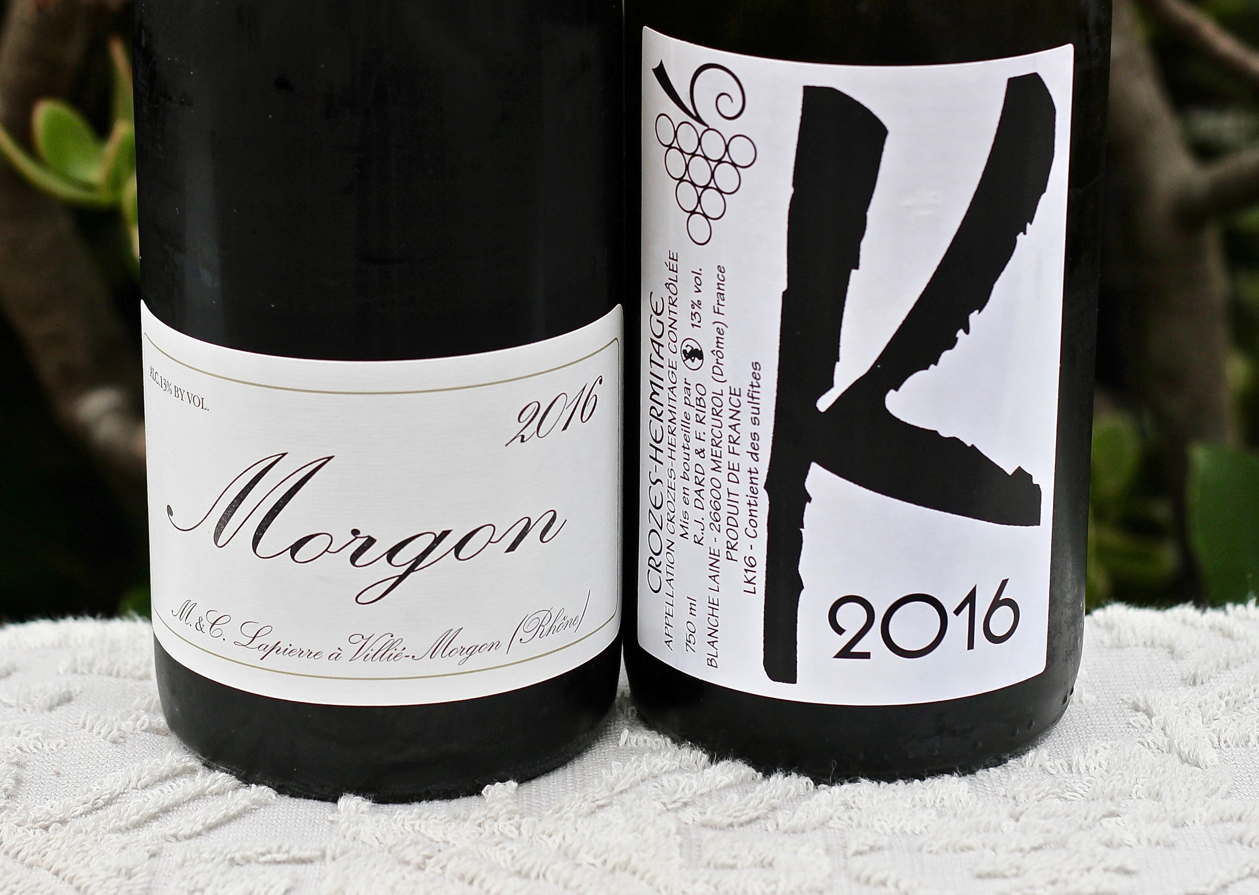 Natural Selections - 2016 Lapierre Morgon (N)2016 Dard & Ribo Crozes Hermitage Blanc Les Karrieres