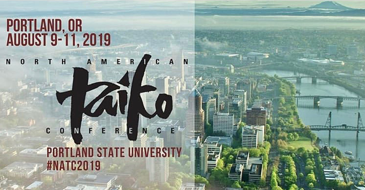 Here it is folks! Tomomi will be leading two workshops at the next North American Taiko Conference in Portland! Be sure to check out  https://natc.taikocommunityalliance.org/  to get up to date information.