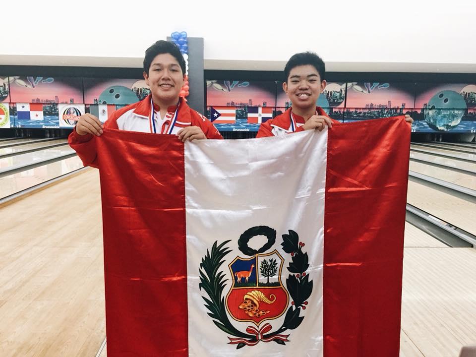 Tercer puesto Sub-16 - Frank de la Sotta y Mitsuhide Higashionna obtuvieron la medalla de bronce en la modalidad dobles Sub-16. Cabe destacar que esta es la primera medalla internacional que ellos han obtenido.