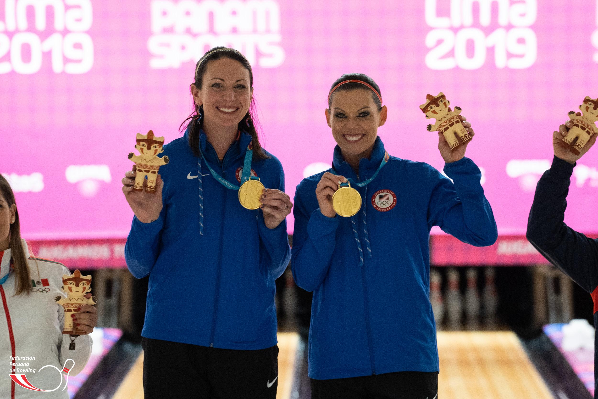 Stephanie Johnson y Shannon O'Keefe (USA) campeonas de la modalidad dobles.