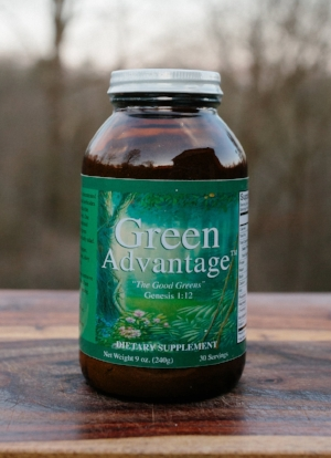 If you can only take one supplement a day, we recommend Green Advantage!