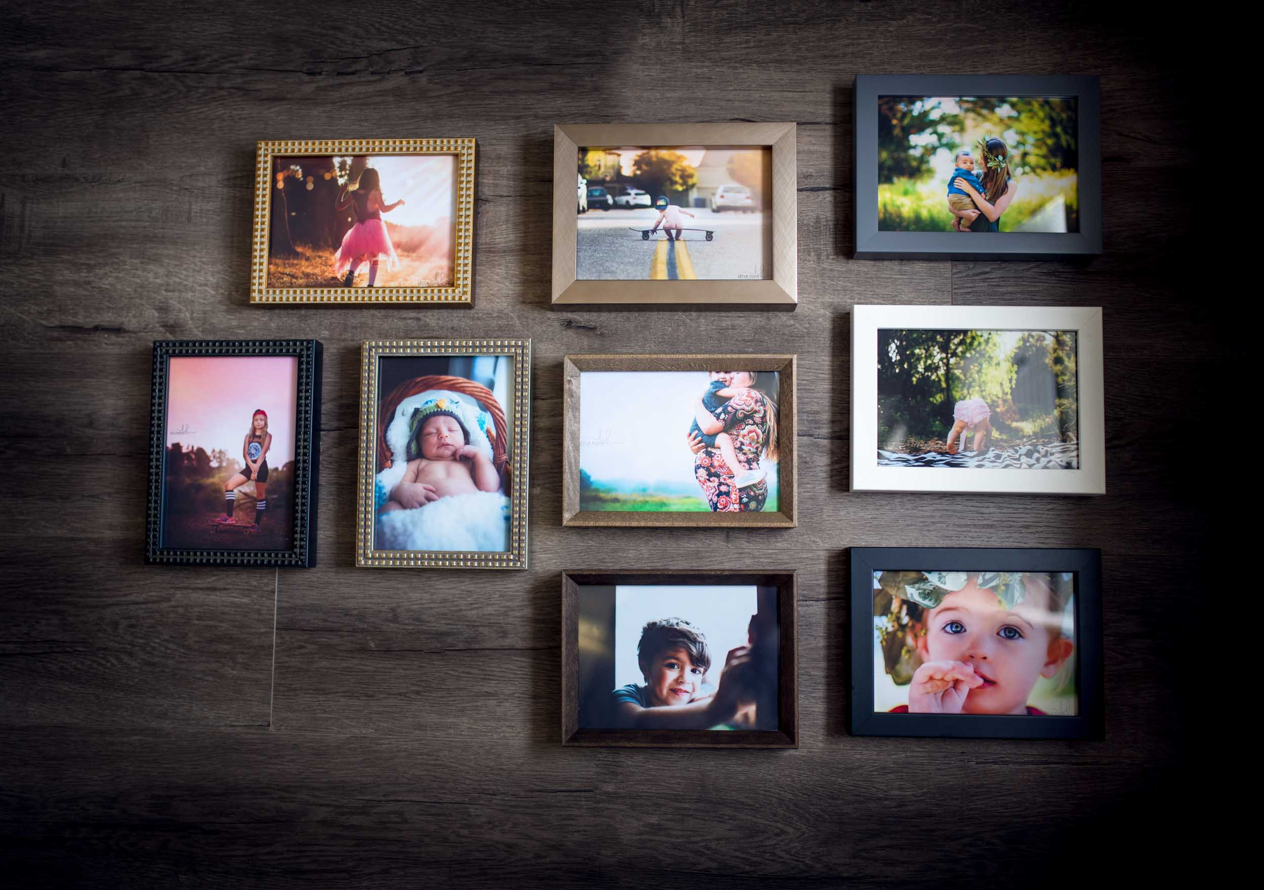 Framed Prints - My frames are made by people, not machines in Portland, Oregon. The archival construction and considered style of the frames will without a doubt preserve your photographs and beautifully accent any decor.Framed prints begin at $125 and are ready to display and add life to your home.