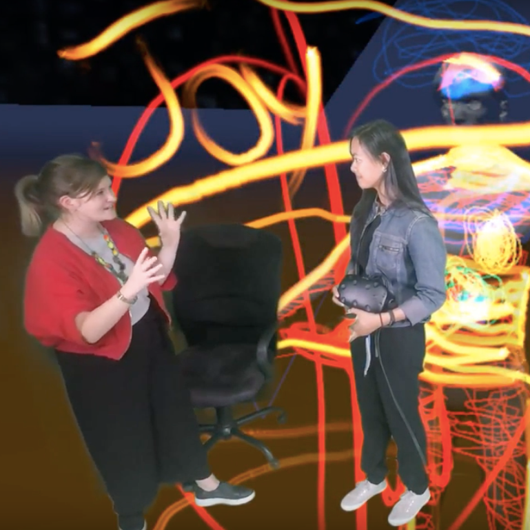 EmpowHer VR - Monday 23rd April 2018Neilda Pacquing kindly invited Hatsumi onto EmpowHer VR's Mixed Reality Twitch Channel for a live demonstration and discussion on the development of the platform. Full video available below.