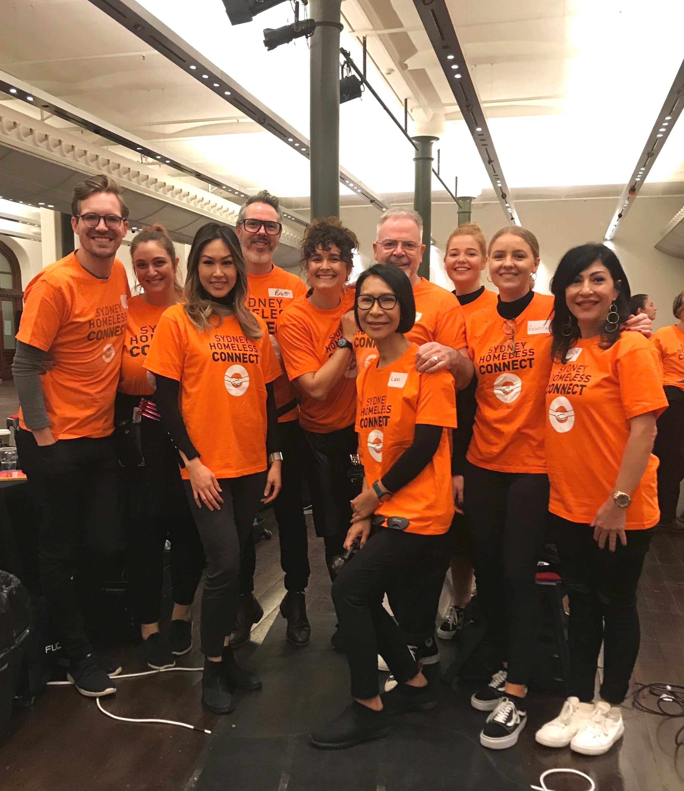 team sydney homeless connect 2019