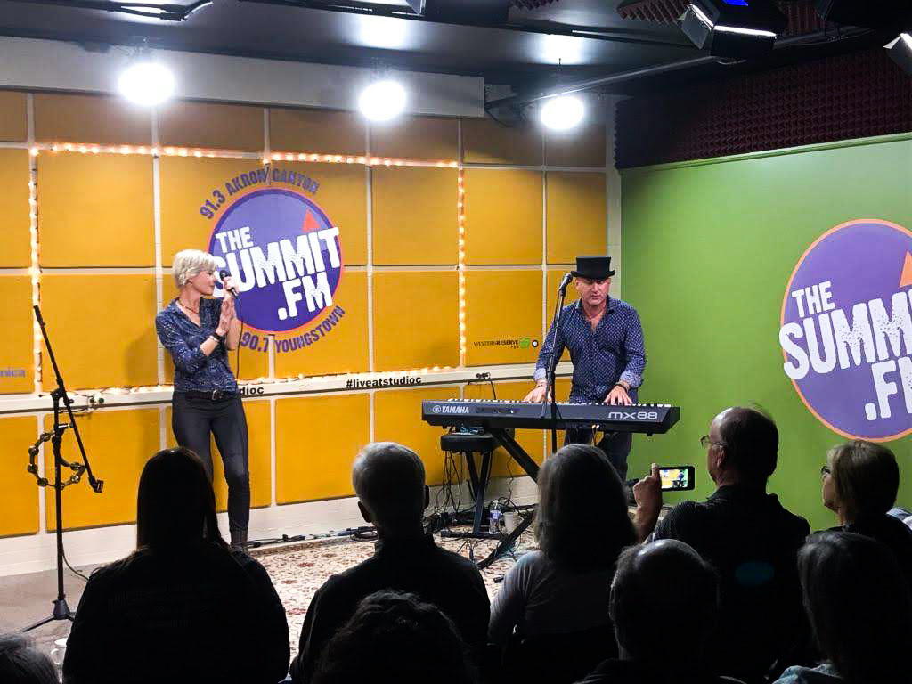 Our live radio interview and concert at 91.3 The Summit FM in Akron, Ohio @thesummitfm #liveatstudioc at the very beginning of our tour! Click on the photo to watch our interview and performance! Click on the image to view and listen!