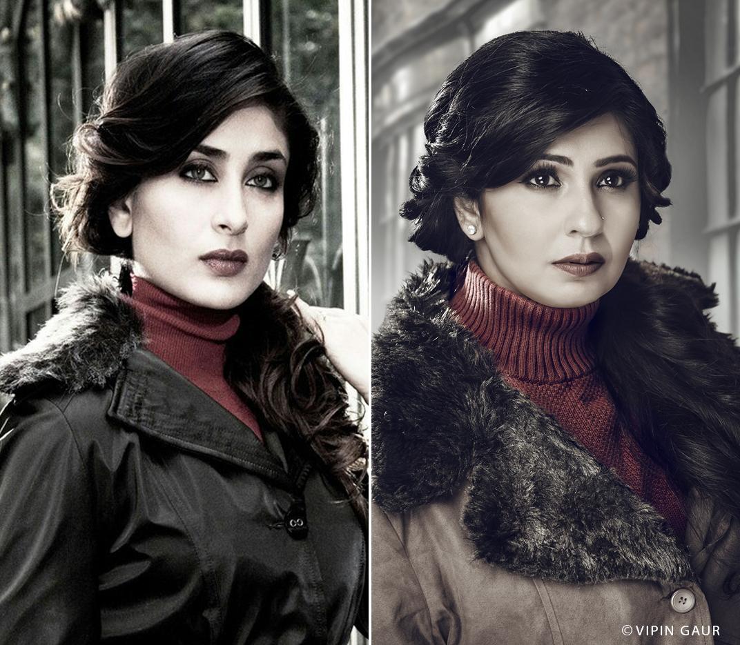 Celebrity makeup artist Noida