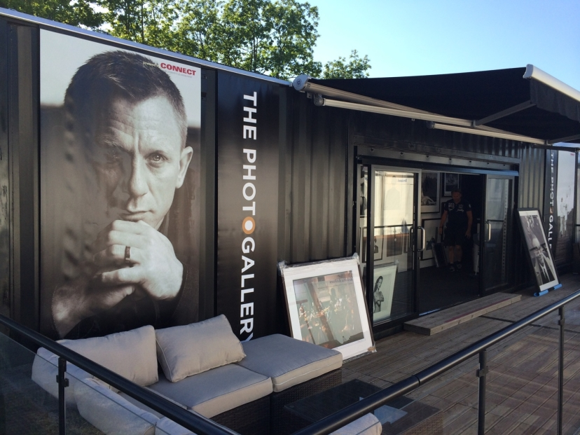 SWEDISH OPEN 2014   Popup Gallery at swedish open in Båstad.