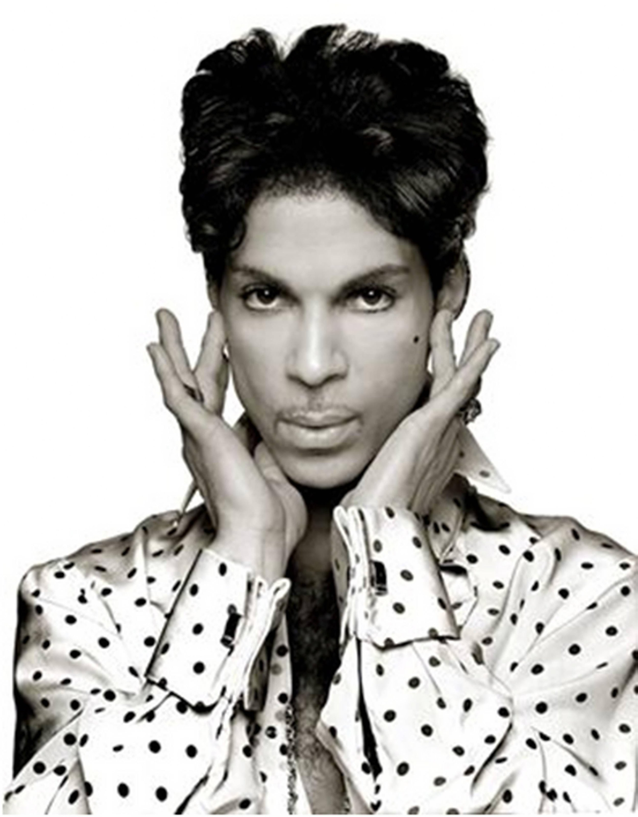 Prince, Cleveland 2004 by Albert Watson  Ed 25, archival pigment print. Available in 3 sizes.  Price on request.
