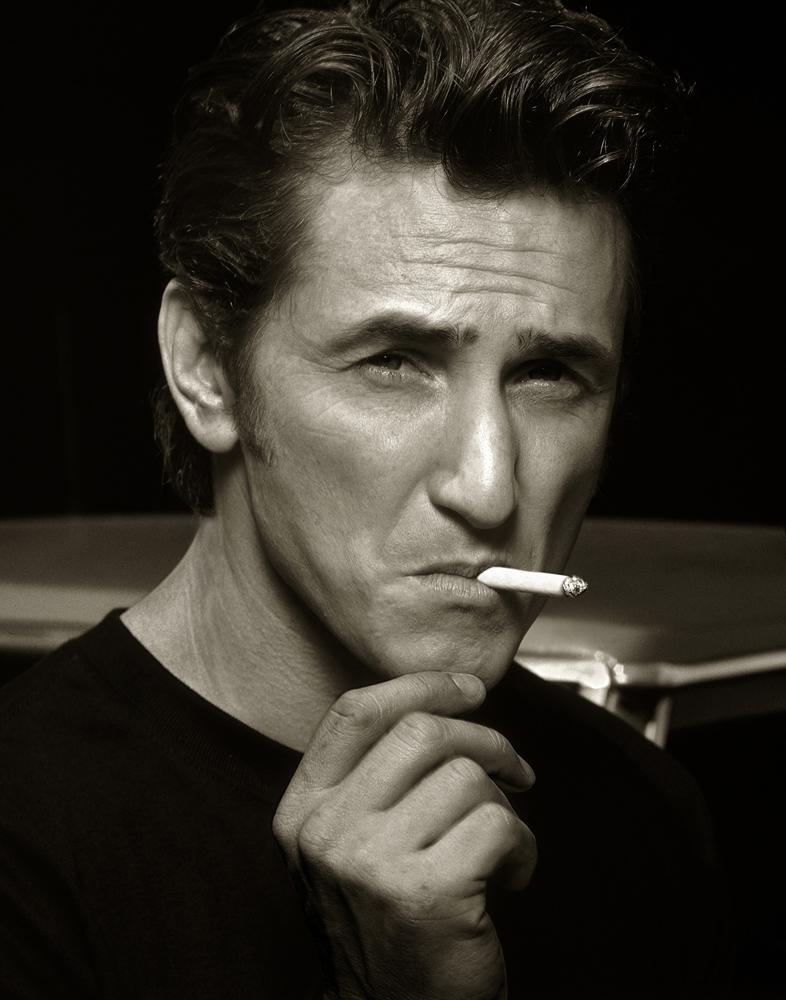 Sean Penn by Albert Watson  Price on request