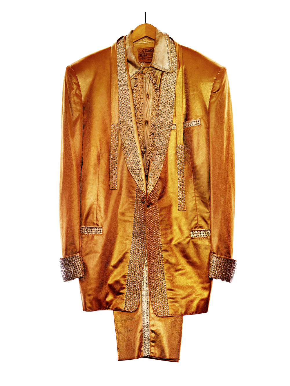 Elvis Presleys Gold lame suit Graceland by Albert Watson  Price on request