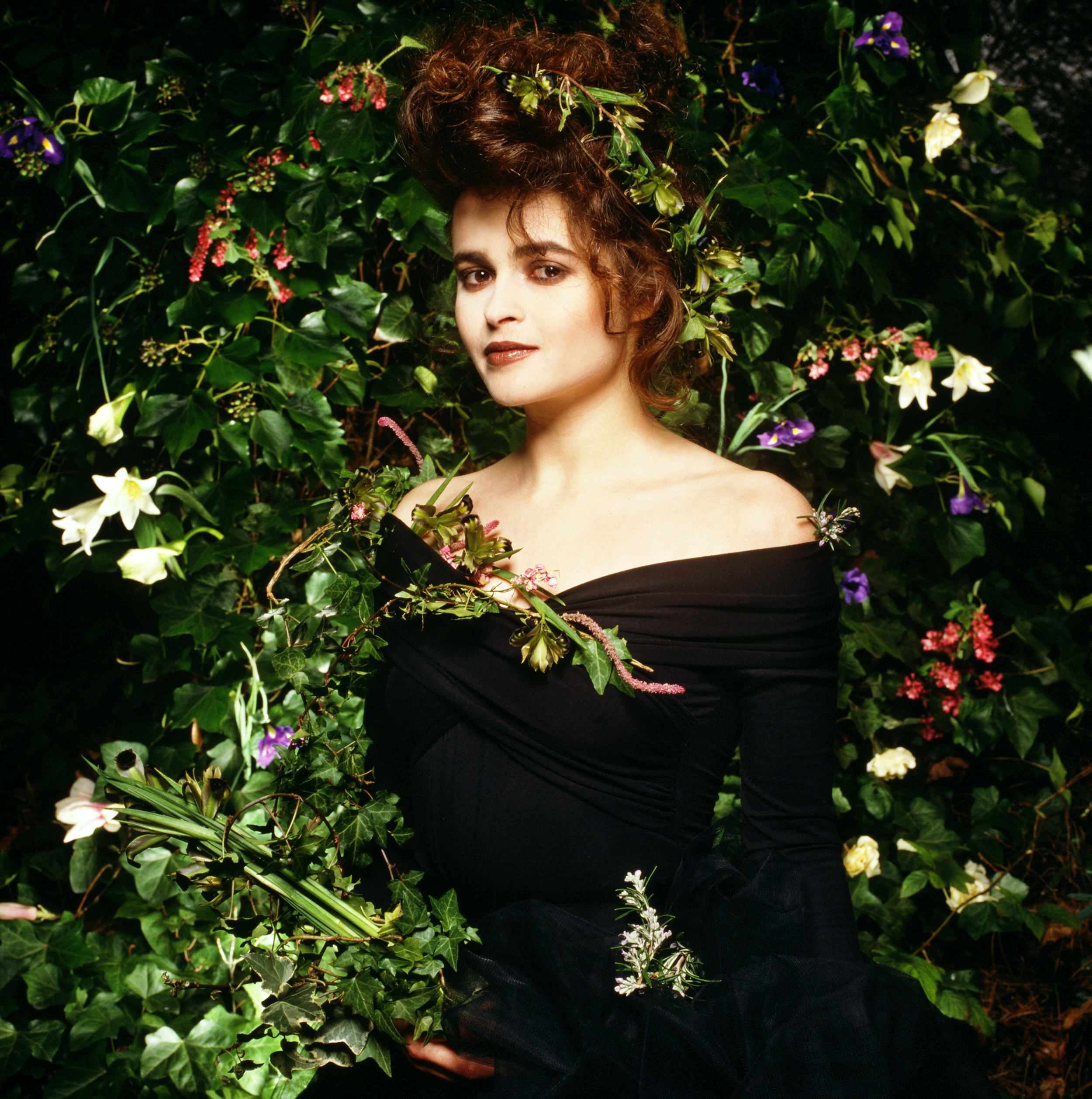 Helena Bonham Carter by Terry O`Neill  Ed 50, C Print  Available in several sizes  Price on request