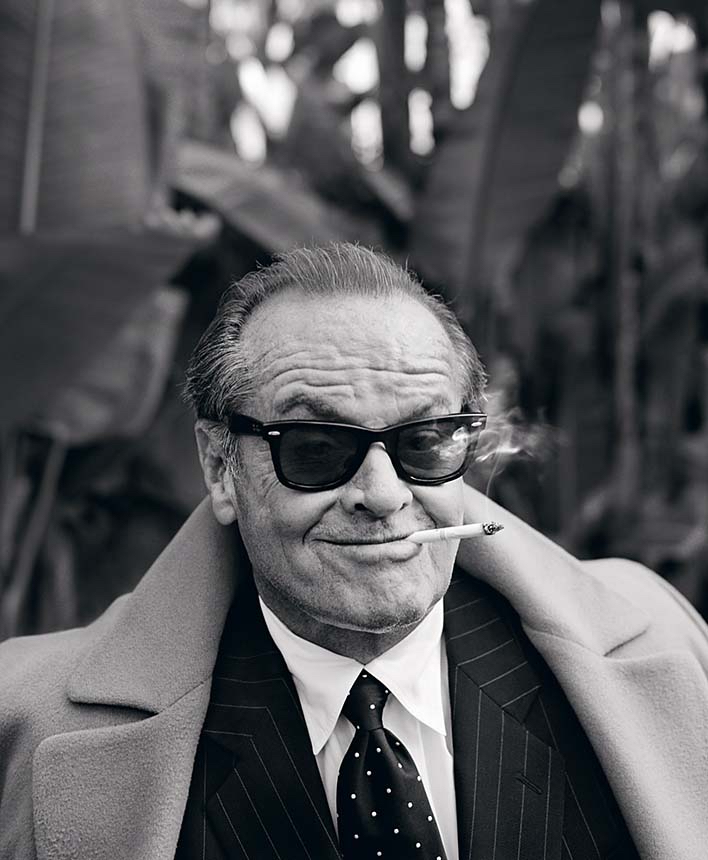 Jack nicholson by Lorenzo Agius  50*60 cm Ed 25  75*100 cm Ed 25  100*120 cm Ed 15  Prices from 3000 pund