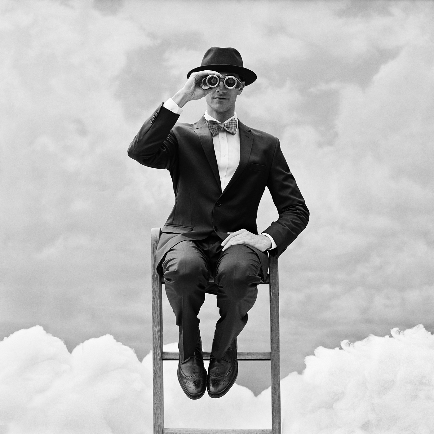 Reed perched on the top of ladder by Rodney Smith  Available in 4 sizes  Price from 10000 USD