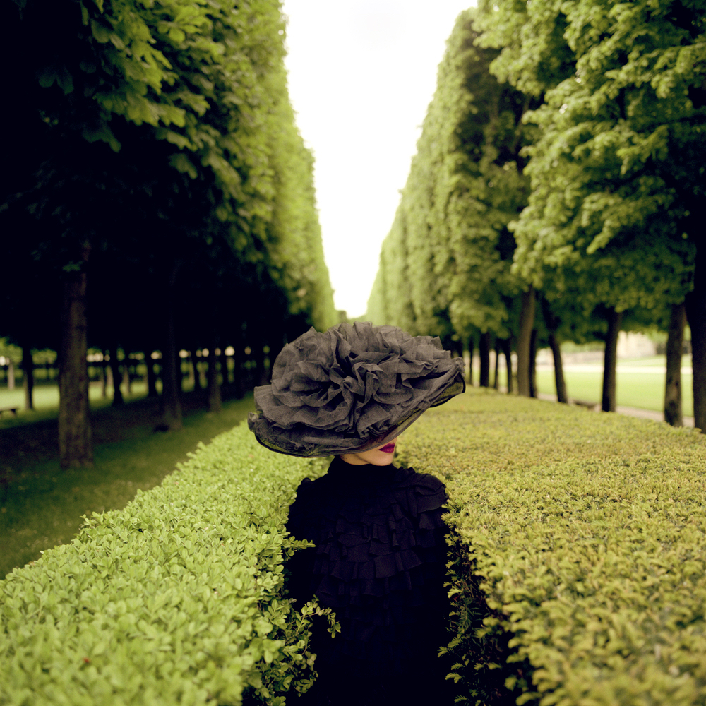 Woman with Hat Between Hedges by Rodney Smith  Available in 4 sizes  Price from 10000 USD