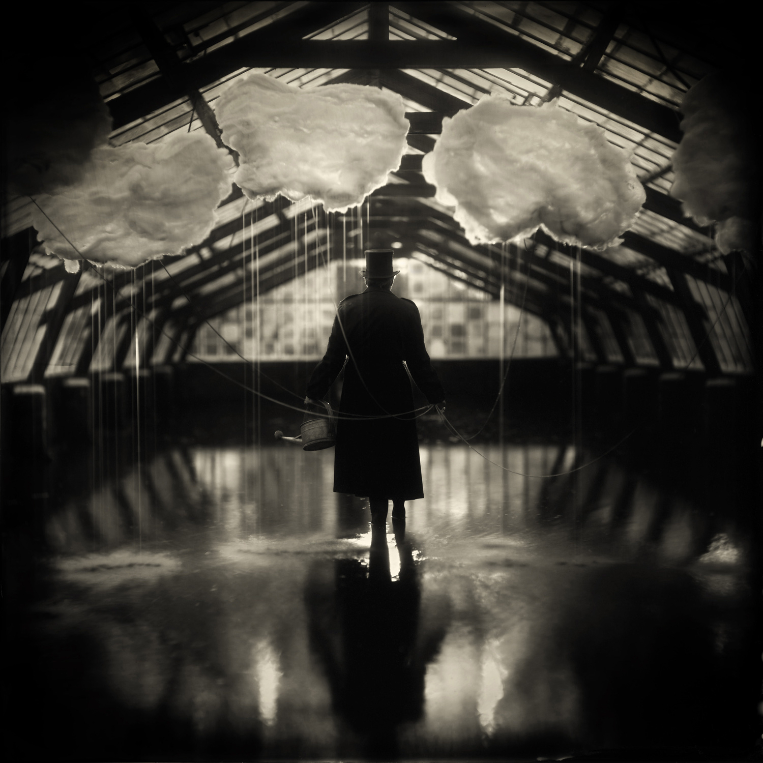 The Rain Maker by Alex Timmermans  Available in different sizes. Price on request.